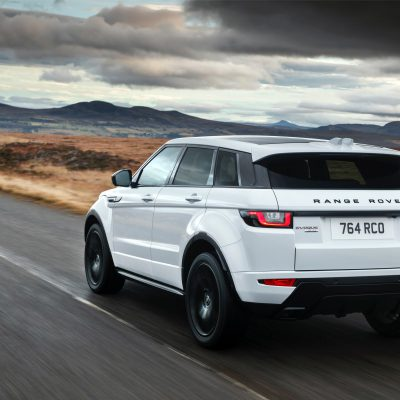 Broker Samochodowy Range Rover Evoque Select Automotive Biały tył