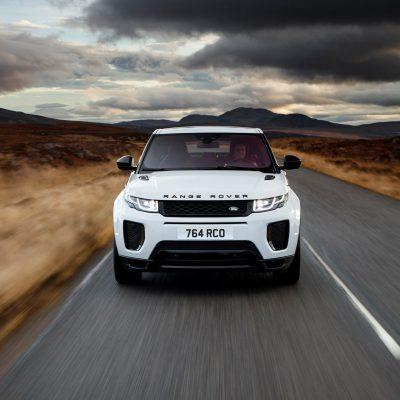 Broker Samochodowy Range Rover Evoque Select Automotive Biały Przod