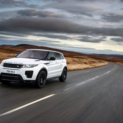 Broker Samochodowy Range Rover Evoque Select Automotive Biały przód