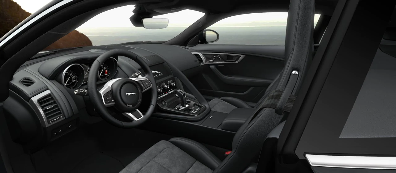 jaguar f-type 2.0 interior
